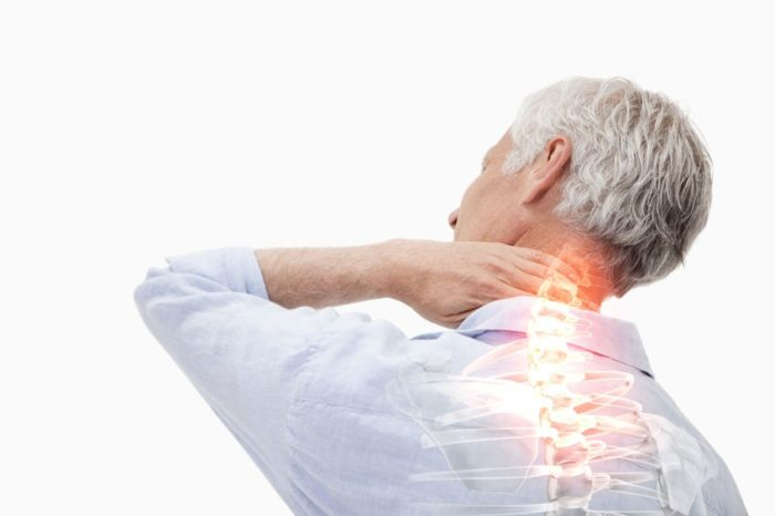 back pain elderly