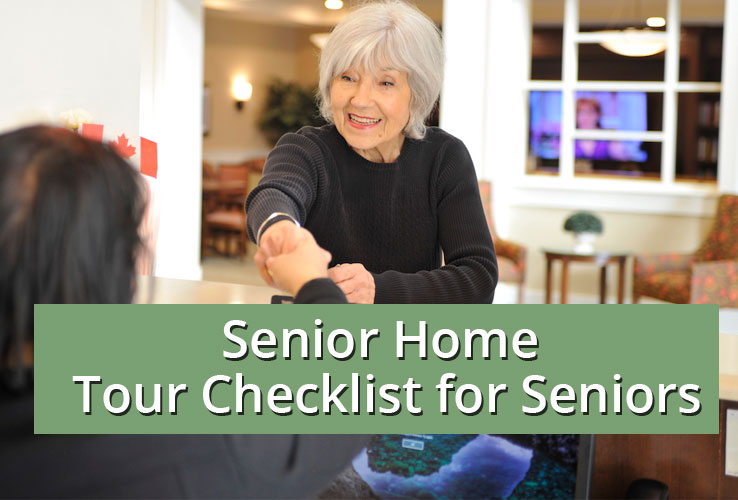 senior home tour checklist